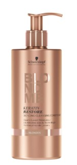 New BlondMe Keratin Restore Bonding Cleansing Conditioner All Blondes 500ml