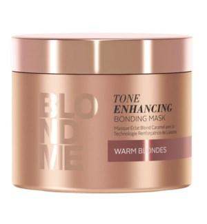 New BlondMe Tone Enhancing Bonding Mask Warm Blondes 200ml
