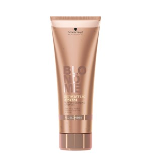 New BM BLONDME Purifying Bonding Shampoo 250ml