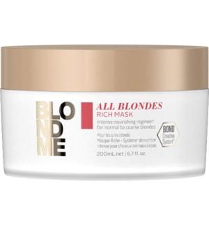 BLONDME All Blondes Rich Mask 200ml SOL2021
