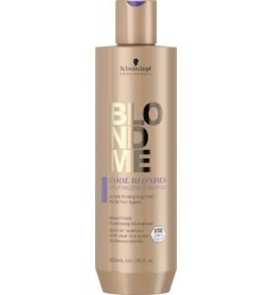 BLONDME Cool Blondes Neutralizing Shampoo 300ml SOL2021