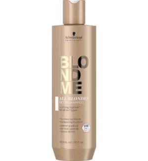 BLONDME All Blondes Detox Shampoo 300ml SOL2021