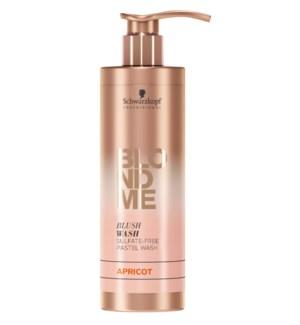 New BlondMe Blush Wash Apricot 250ml FP