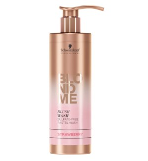New BlondMe Blush Wash Strawberry 250ml FP