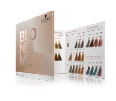New BlondMe Color Chart 3/18