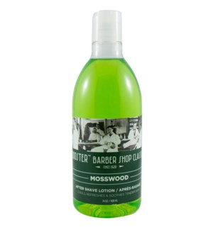 400ML BOOST MOSSWOOD AFTER SHAVE LOTION
