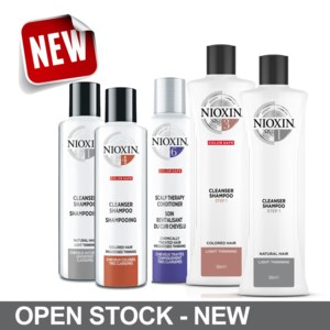 Nioxin NEW Open Stock