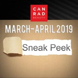 Sneak Peek March-April 2019