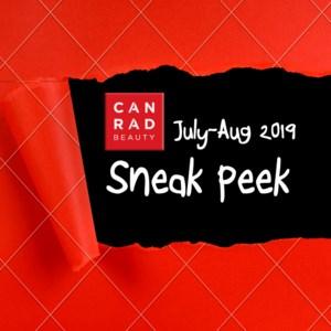 Sneak Peek July-Aug 2019