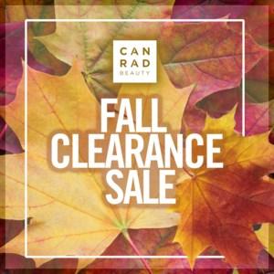 CANRAD FALL CLEARANCE