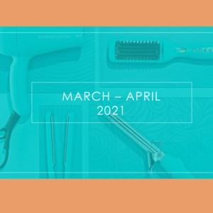 March-April pre-order