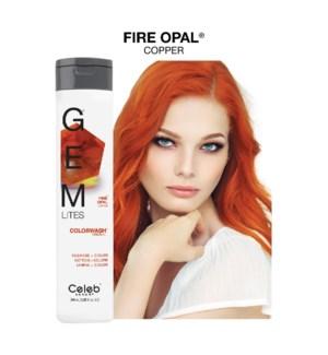 *MD 244ml Gemlites Fire Opal Shampoo 8.25oz