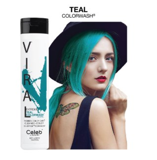 244ml Viral Shampoo Extreme Teal 8.25oz
