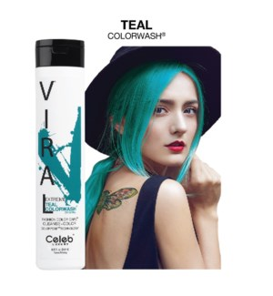 244ml Viral Shampoo Extreme Teal 8.25oz