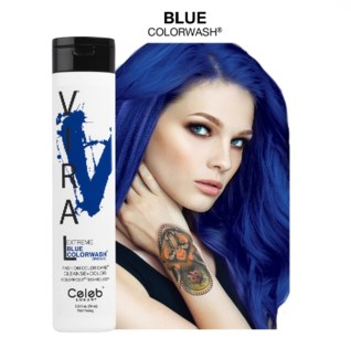 244ml Viral Shampoo Extreme Blue 8.25oz