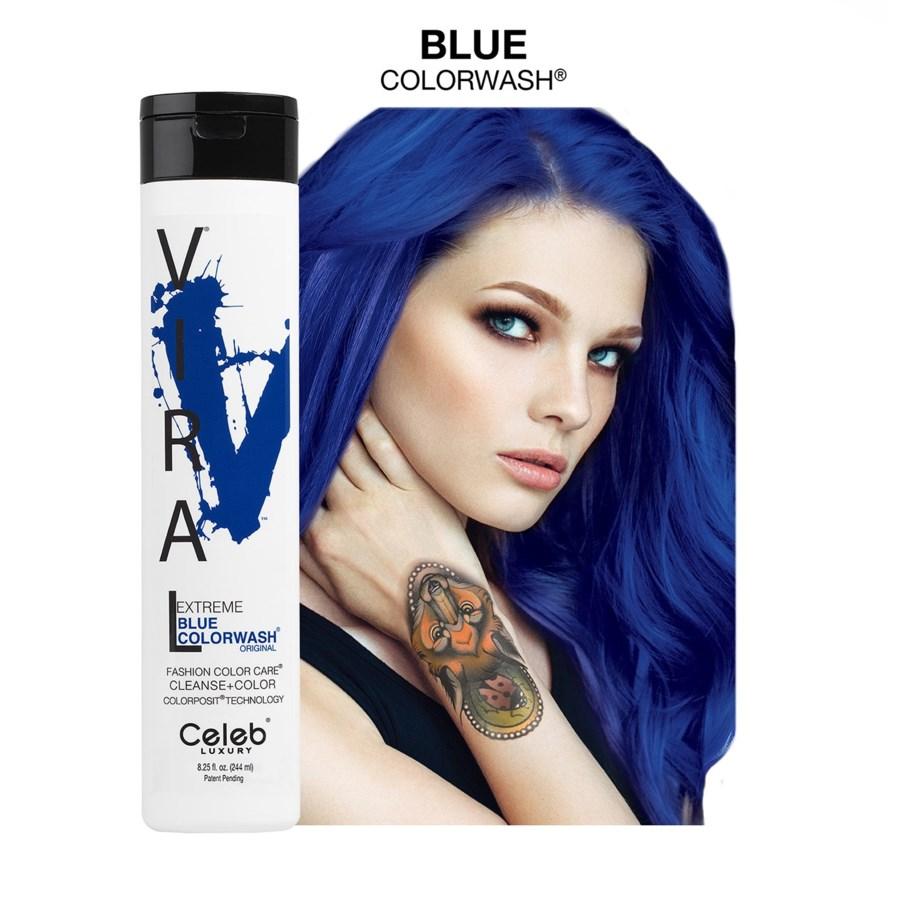 *BF 244ml Viral Shampoo Extreme Blue 8.25oz