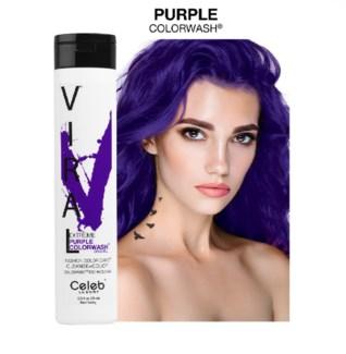 244ml Viral Shampoo Extreme Purple 8.25z