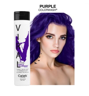 244ml Viral Shampoo Extreme Purple 8.25z