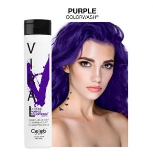*MD 244ml Viral Shampoo Extreme Purple 8.25z