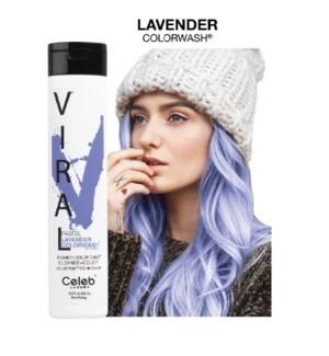 244ml Viral Shampoo Lavender 8.25oz