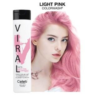244ml Viral Shampoo Light Pink 8.25oz