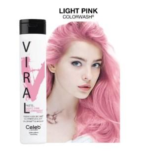 *MD 244ml Viral Shampoo Light Pink 8.25oz
