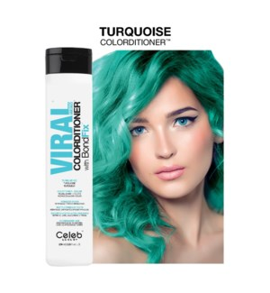 *BF 244ml Viral Turquoise Colorditioner 8.2z