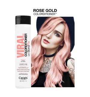 244ml Viral Rose Gold Colorditioner 8.2z