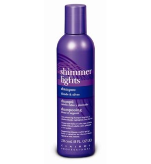 237ml Shimmer Light Blue Shampoo 8oz