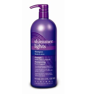 Litre Shimmer Light Blue Shampoo 32oz