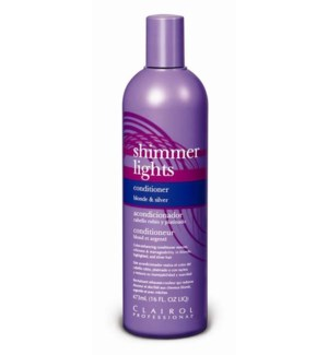 473ml Shimmer Light Blue Conditioner