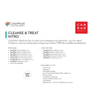 ! CP CLEANSE & TREAT Intro 2020