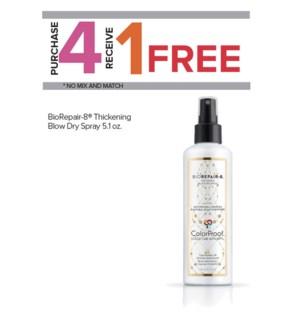 !  4+1 CP BioRepair-8 Blow Dry Spray SO19