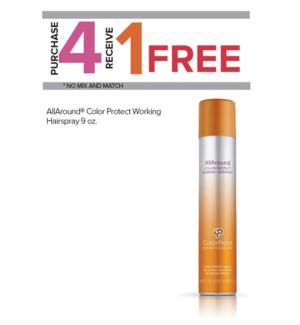 ! 4+1 265ml CP AllAround Hairspray SO19