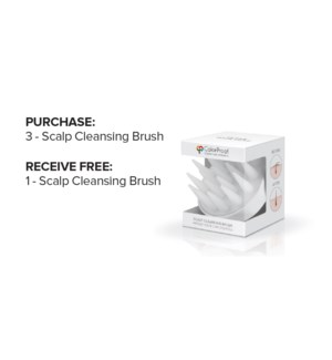 ! 3+1 CP Scalp Cleansing Brush JF2021