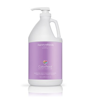 % 64oz CP SignatureBlonde Shampoo