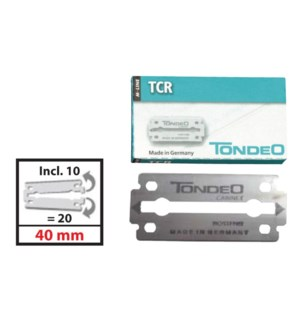 *BF TONDEO TCR Blades For 1110TMC 10pc per Box