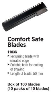 TONDEO Comfort Safe Texturizng Blades For 1112 Razors 100pcs