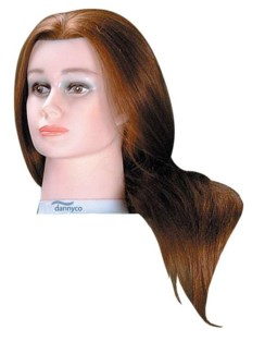 Deluxe Euro Mannequin, Extra Long Hair, Approximately 24 Inches