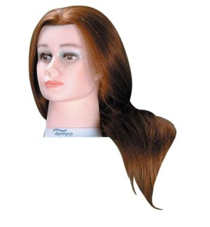 Deluxe Euro Mannequin, Extra Long Hair, 24 Inches BES24DTCUCC