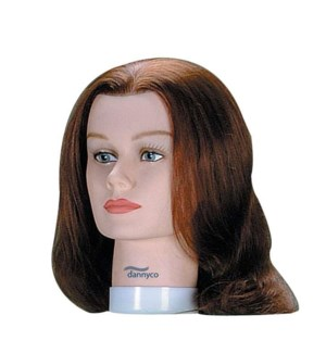 Standard Mannequin Euro Hair, Brown, 16 Inches BES2BUCC