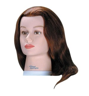 Deluxe Euro Mannequin, Brown, Approximately 18 Inches