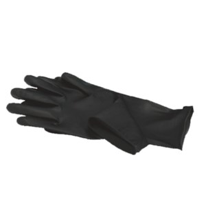 Large Black Satin Glove 2 Pair BES33704LGUCC