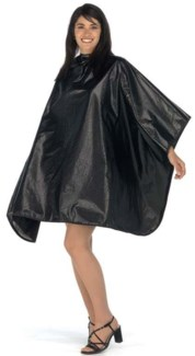Deluxe All Purpose Snap Cape, Black