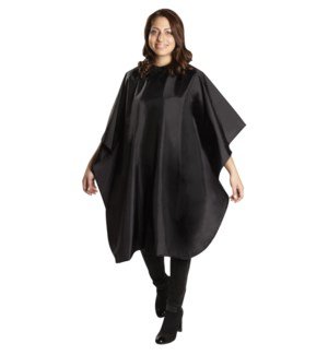 Nylon Cut Cape, Black BES360BKUCC