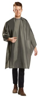 Deluxe Water Resistant Cutting Cape, Grey