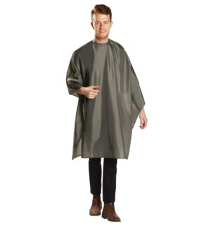 Deluxe Water Resistant Cutting Cape, Grey BES360SNGUCC