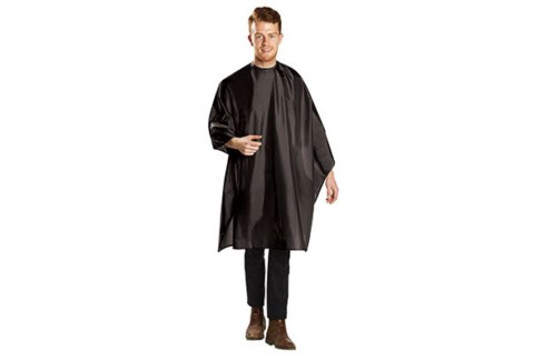 Nylon Cut Cape, Extra Large, Black