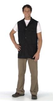 Unisex Utility Vest Black BES392UCC