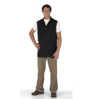 Unisex Utility Vest w/ Teflon, Polyester, Black